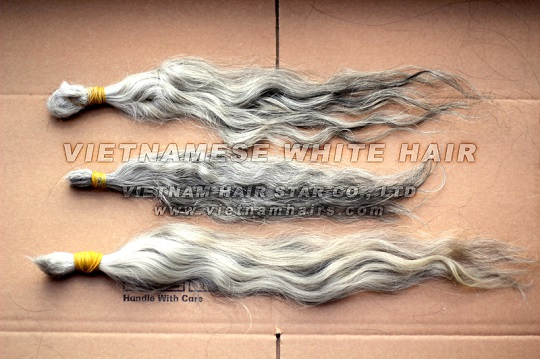 Quality Limited Vietnamese White Hair 60cm