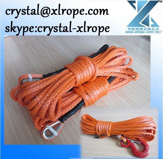 Quality Synthetic Winch Rope For 4wd