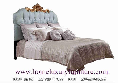 Queen Bed King Luxury Bedroom Classical Italy Style Price Supplier Ta 010