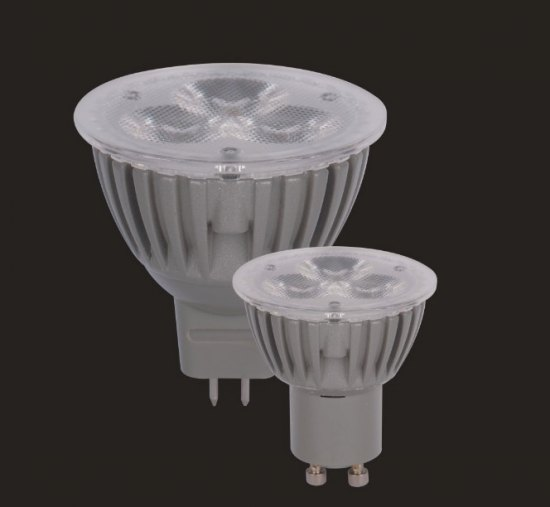 Qulity Effective Led Lamp 3 1w Gu10 G5 No Screw Seen From Outside