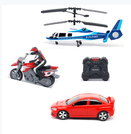 R C 3 In 1 Group Rc Helicopter Car Motorcycle Bike Ly0004105