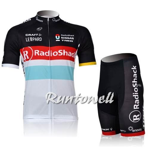 Radio Shackshort Sleeve Cycling Jersey And Shorts