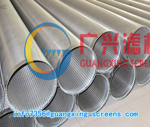 Raidial Well Drilling Filter Screen Casing And