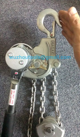 Ratchet Puller Lever Block Chain Hoist