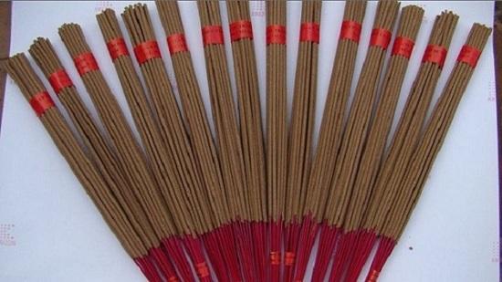 Raw Black Incense Sticks Origin Vietnam