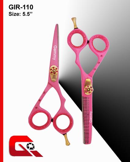 Razor Edge Barber Thinning Scissor Set