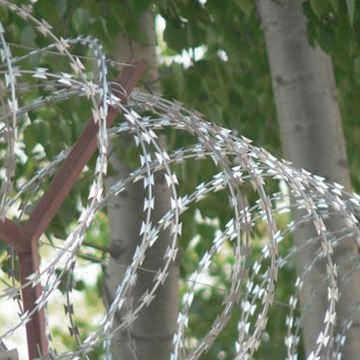 Razor Wire For Security Use Electric Galvanized Hot Dipped Zinc