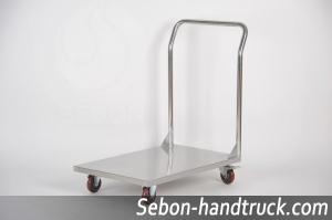 Rcs 019 A Type Medical Treatment Handcart Stainless Steel Flat Trolley Series