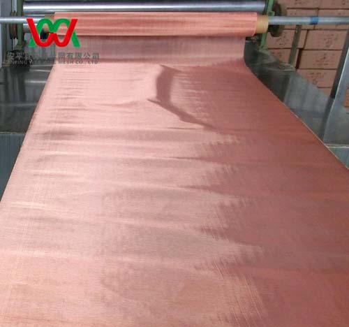 Real 100 Copper Woven Wire Micro Mesh Screen
