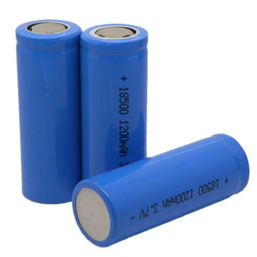 Real Capacity Rechargeable 3 7v Li Ion Battery Lir18500 1 300mah