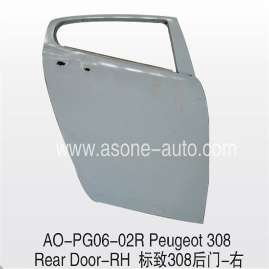 Rear Door For Peugeot 308 Auto Body Parts