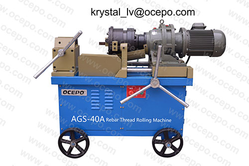 Rebar Thread Rolling Machine Ags 40a