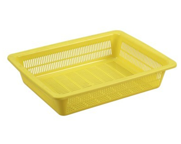 Rectangle Plastic Fruit Basket Made By Pp