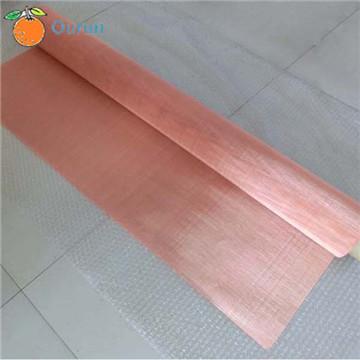 Red Copper Wire Mesh Pure