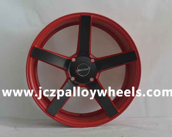 Red Vossen Replica Car Alloy Wheels 18x8 5