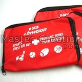 Red Zipper Bag Pet First Aid Needle Small Pouch Printed Zip Cheap Gift
