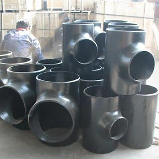 Reducing Tee Butt Welded Asme B16 28 Exports From China