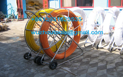 Reels For Continuous Duct Rods Pipe Traker Traceable Midi Rodder