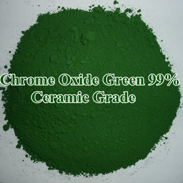 Refractory Grade And Metallurgical Of Chrome Oxide Green Factory