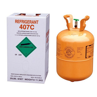 Refrigerant Green Gas R407 With 99 9 Purity