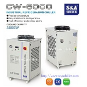 Refrigerated Chiller Units Cw 6000 China Factory