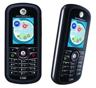 Refurbished Nokia Motorola Phone C261