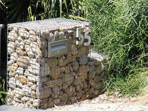Reinforced Woven Gabion Superior In Strength