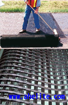 Reinforcing Warp Knitted Polyester Geogrid