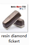 Resin Bond Diamond Fickert Monte Bianco Abrasive For Ceramic Tiles