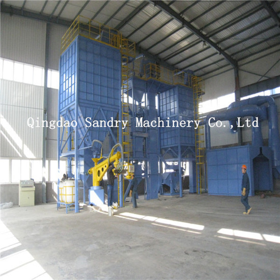 Resin Sand Reclamation And Molding Machine