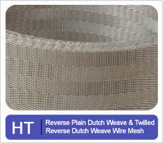 Reverse Plain Twilled Dutch Weave