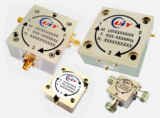 Rf Microwave Broadband Circulator 56mhz To 18ghz Up 2000w Power N Sma Tab Connector