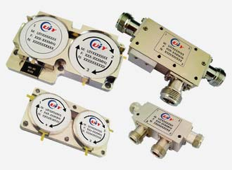 Rf Microwave Dual Junction Circulator 60mhz To 20ghz Up 400w Power N Sma Tab Connector