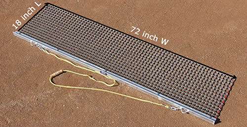Rigid Drag Mat Prior Alternative For Leveling Infields And Diamonds