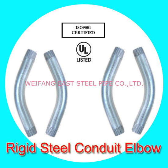 Rigid Steel Elbow With Ul Listed And Ansi Certificate
