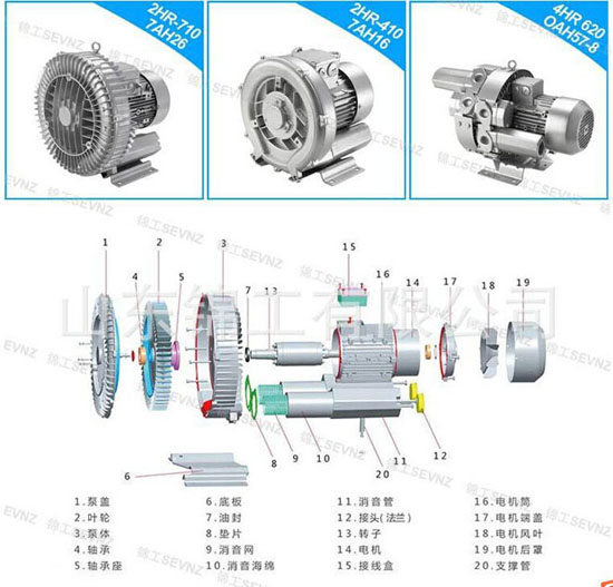 Ring Blower Vortex Pump Side Channel China Cheap