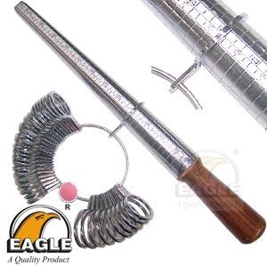 Ring Sizer Stick And Finger Gauges Set