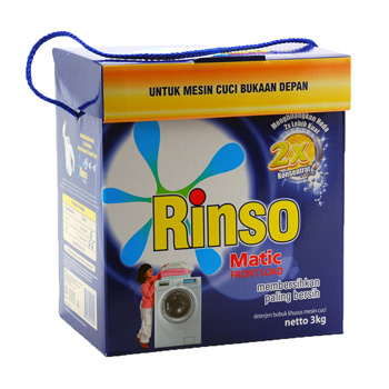 Rinso Matic Frontload Detergent 3000gr