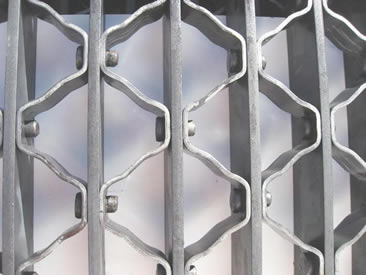 Riveted Grating