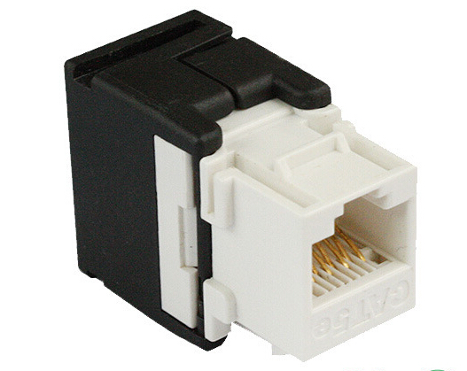 Rj45 Utp 180 Degree Toolless Keystone Jack