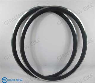 Road Carbon Alloy Rim 38mm Clincher