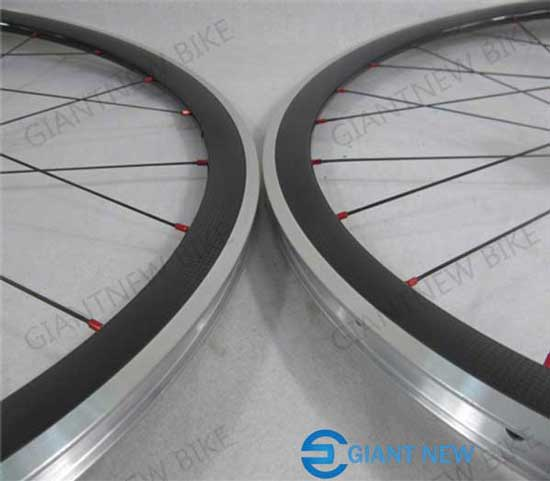 Road Carbon Alloy Wheels 38mm Clincher