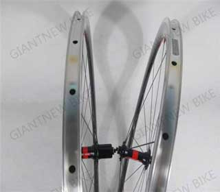 Road Carbon Alloy Wheels 38mm Clincher With External Nipple