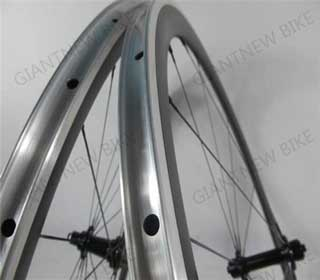 Road Carbon Alloy Wheels 50mm Clincher With Novatec Powerway Hub