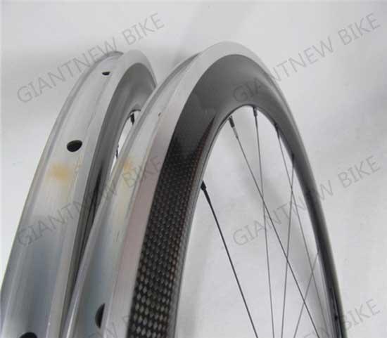 Road Carbon Alloy Wheels 60mm Clincher