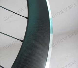Road Carbon Alloy Wheels 80mm Clincher With En Standard