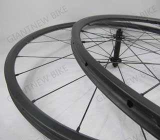 Road Carbon Wheels 20mm Tubular With 600mm Erd