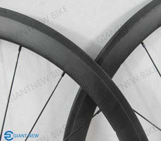 Road Carbon Wheels 38mm Tubular