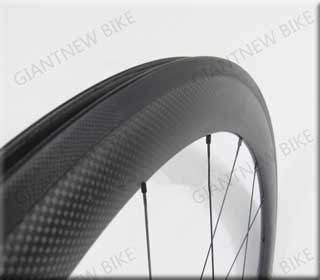 Road Carbon Wheels 50mm Clincher With Glossy Or Matt Finish