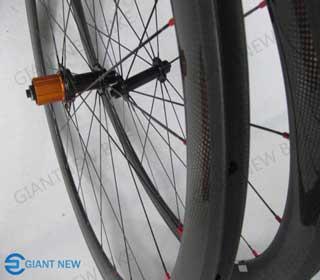 Road Carbon Wheels 50mm Tubular